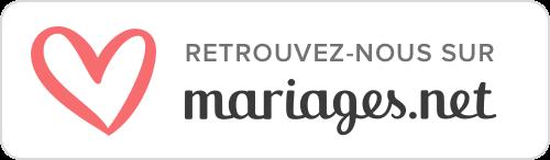 Logo Mariage.net Organisation de mariage. Paris en Noces. Wedding Planner en Ile de France