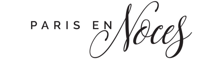 Logo Paris en Noces. wedding planner en ile de france.
