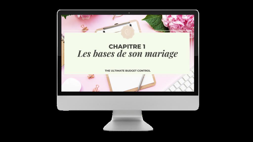 mockup de the ultimate budget control. budget de mariage. wedding en Ile de France. PARIS EN NOCES