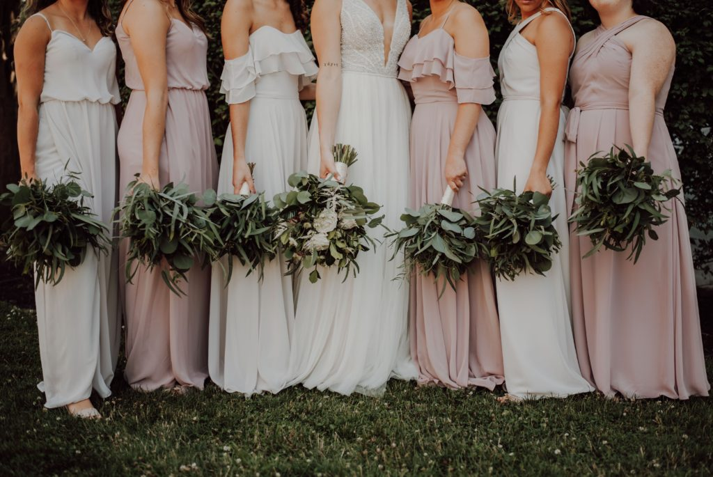 Robes de demoiselles d'honneur. Paris en Noces. Wedding planner en Ile de France